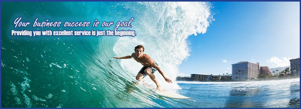Your business success is our goal.Providing you with excellent service is just the beginning. | surfer